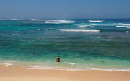 Bali seaview Indonesia. Asia Royalty Free Stock Photo
