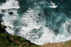 Bali Seawater Royalty Free Stock Photography
