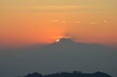 bali soluppgång Royaltyfri Bild