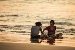 bali Spiaggia di Jimbaran  immagini stock libere da diritti