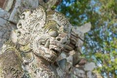 Bali statua w Taman Ayun świątyni obrazy royalty free