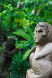 Bali statue. Royalty Free Stock Images