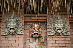 Bali statues. Royalty Free Stock Image