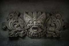 Bali stone sculpture Stock Image