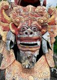Bali Stone Statue. A stone sculpture of a mythical creature at Tirtagangga, in Amlapura, the best surviving example of Bali's royal water palaces Stock Photography