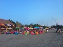 Bali strand Arkivbilder