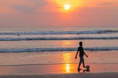 Bali strand Royaltyfria Bilder