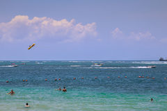 Bali strand Royaltyfri Fotografi