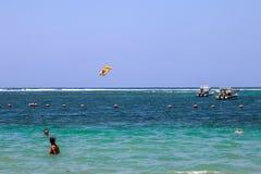 Bali strand Arkivbild
