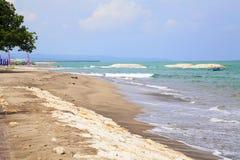 bali strandindonesia kuta Royaltyfria Bilder