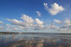bali strandkuta Fotografering för Bildbyråer