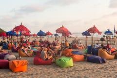 Bali strandstång Royaltyfri Fotografi