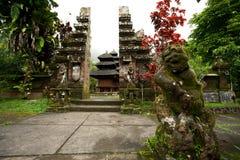 BALI, STYCZEŃ - 2:  Pura Luhur Batukaru świątynia na STYCZNIU 2, 201 obraz royalty free