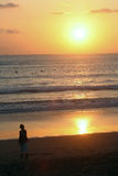 Bali Sunset Royalty Free Stock Images