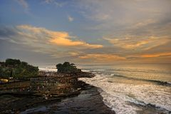 Bali - Tanah Lot Stock Photo