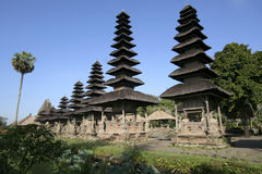 bali tempel Arkivbilder