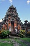 bali tempel Royaltyfri Bild