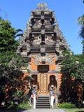 bali tempel Royaltyfri Fotografi
