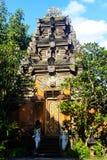 Bali Tempel i Ubud Royaltyfria Foton
