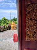 Bali tempel, Indonesien Royaltyfria Bilder
