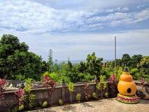 Bali tempel, Indonesien Fotografering för Bildbyråer