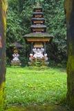 Bali tempel på Ubud, Indonesien Royaltyfri Fotografi