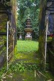 Bali tempel på Ubud, Indonesien Royaltyfri Bild