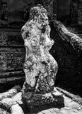 Bali-Tempel-Statue Lizenzfreie Stockfotografie