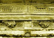 Bali-Tempelskulptur Stockbild