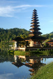 Bali Temple. Ulun Danu Temple on the shore of Lake Brataan in Bali in Indonesia stock images
