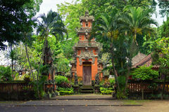 Bali Temple. Traditional architecture of Bali. Temple stock images