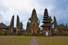 Bali temple build in traditional architecture Stock Photo