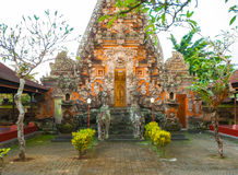 Bali temple complex Royalty Free Stock Image