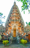 Bali temple complex Stock Images
