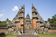 Bali temple entrance Royalty Free Stock Images