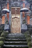 Bali Temple Entrance. Golden Door - Old Bali Temple Entrance, Indonesia stock photos