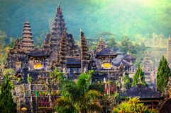 Bali temple. In the mountains asia best and top selling image stock image