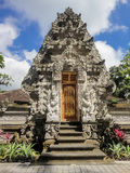 Bali temple. At Ubud, Indonesia stock photos