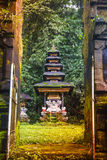 Bali temple at Ubud, Indonesia Royalty Free Stock Photography