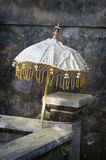 Bali Temple Umbrella. Stock Images