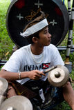 BALI: traditional balinese musician Stock Images