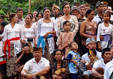 BALI: traditional Cremation ceremony  Stock Photo