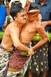 Bali Traditional Pandanus War Stock Photography