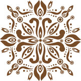 Bali traditional pattern. Brown colour traditional pattern background Royalty Free Stock Photography