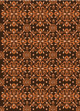 Bali traditional pattern. Brown colour traditional pattern background Stock Images