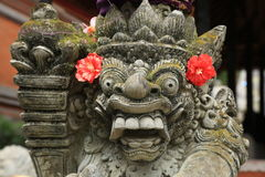 Bali traditional statue. Traditional statue  in bali,indonesia Royalty Free Stock Image