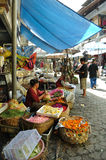 Bali Ubud market Royalty Free Stock Photography