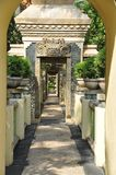 Beautiful street on Bali royalty free stock images