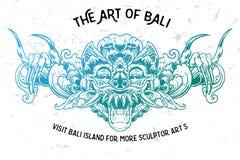 Bali-Verzierung karang boma lizenzfreie stockfotos