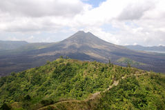 Bali volcanic landscape Royalty Free Stock Photo